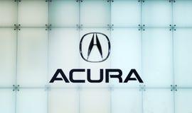 Logo d'Acura Photos stock