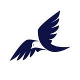 Logo d'affaires d'oiseau Images stock