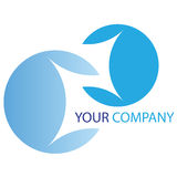 Logo d'affaires de compagnie Image stock