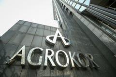 Logo d'Agrokor Image stock