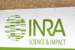 Logo d'AICN, l'institut national de la recherche agronomique image libre de droits