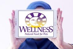 Logo d'aliment pour animaux familiers de bien-être Images libres de droits