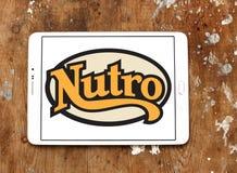 Logo d'aliment pour animaux familiers de Nutro Photo stock