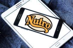 Logo d'aliment pour animaux familiers de Nutro Photo libre de droits