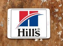 Logo d'aliment pour animaux familiers du ` s de colline Photos stock