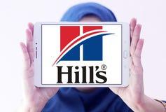 Logo d'aliment pour animaux familiers du ` s de colline Photos libres de droits