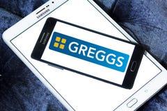Logo d'aliments de préparation rapide de Greggs photographie stock libre de droits
