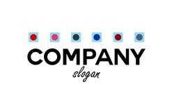 Logo d'aliments surgelés Images libres de droits