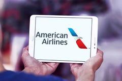 Logo d'American Airlines Photographie stock libre de droits