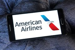 Logo d'American Airlines Photo stock