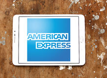 Logo d'American Express Photos stock