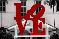 Logo d'amour Photographie stock libre de droits
