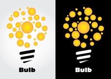 Logo d'ampoule Image stock
