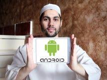 Logo d'Android Photos libres de droits