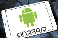 Logo d'Android Photographie stock libre de droits