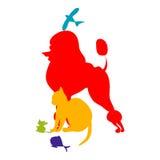 Logo d'animaux Photo stock