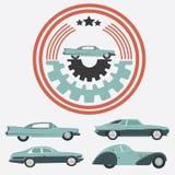 Logo d'annata per il vostro logo - retro logo dell'automobile la cosa migliore per il vostro logo c illustrazione di stock
