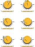 Logo d'Anneversary Image libre de droits