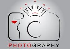 Logo d'appareil-photo Photo libre de droits