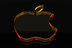 Logo d'Apple Image stock