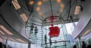 Logo d'Apple Store banque de vidéos