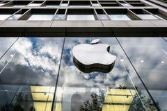 Logo d'Apple Store photos libres de droits