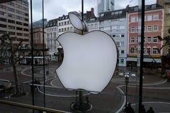 Logo d'Apple Store ? Francfort images stock