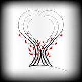 Logo d'arbre illustration stock
