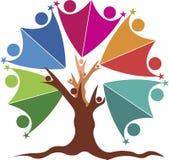 Logo d'arbre de couples Photo libre de droits