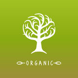 Logo d'arbre de vecteur illustration stock