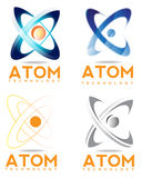 Logo d'atome illustration libre de droits