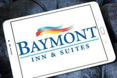 Logo d'auberge et de suites de Baymont images stock
