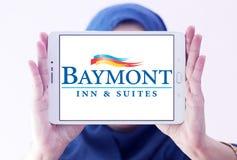 Logo d'auberge et de suites de Baymont photographie stock