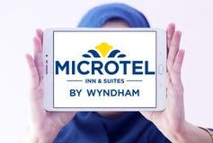 Logo d'auberge et de suites de Microtel photo libre de droits