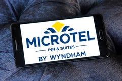 Logo d'auberge et de suites de Microtel photos libres de droits