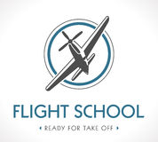Logo d'aviation Photos stock