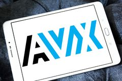 Logo d'AVX Corporation Photos libres de droits