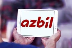 Logo d'Azbil Corporation Image stock