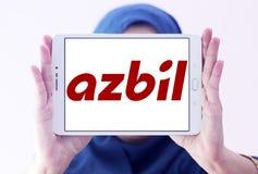 Logo d'Azbil Corporation Photographie stock libre de droits