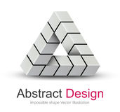 Logo 3D design Royalty Free Stock Photography