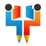 Logo d'éducation Photographie stock