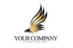 Logo d'Eagle illustration de vecteur
