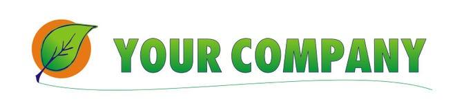 Logo d'Eco Photographie stock libre de droits