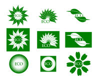 Logo d'Eco Photographie stock