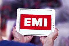 Logo d'EMI Records Image stock