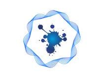 Logo d'encre Image stock
