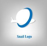 Logo d'escargot Image stock