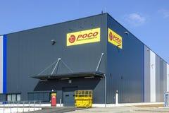 Logo d'escompteur de POCO Photographie stock