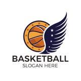 Logo d'esport de basket-ball illustration libre de droits