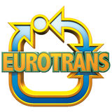 Logo d'Eurotrans Photos stock